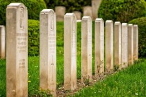 Military Cemetery Buried